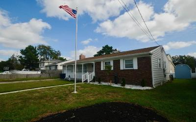 Brigantine Single Family Home For Sale: 213 Lincoln Dr