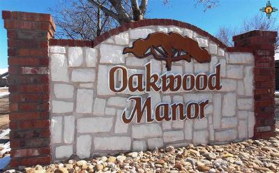 Portales Residential Lots & Land For Sale: 1208 Oakwood Circle
