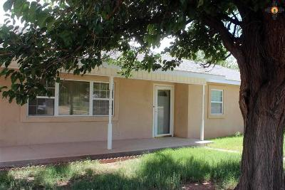 Tucumcari NM Single Family Home For Sale: $109,000