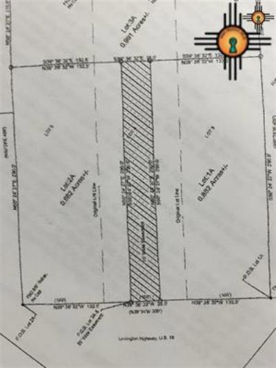 Commercial For Sale: Lovington Hwy Lots 1a And 2a