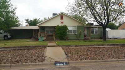Eunice NM Single Family Home Sold-Co-Op W/Mls Member: $122,000