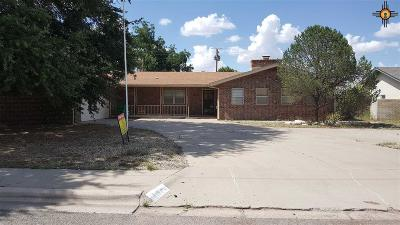 Lovington Single Family Home For Sale: 1400 W Ave. H