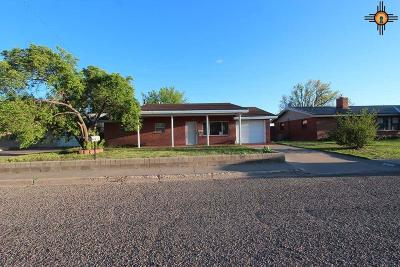 Portales NM Single Family Home Sold-Co-Op W/Mls Member: $105,000