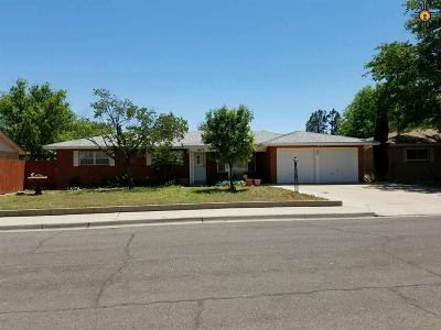 Hobbs NM Single Family Home Sold-Co-Op W/Mls Member: $124,000