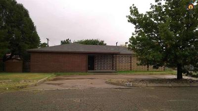 Clovis NM Single Family Home Sold-Co-Op W/Mls Member: $87,000