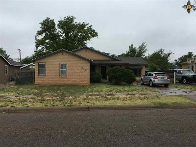 Clovis NM Single Family Home Sold-In House: $52,000