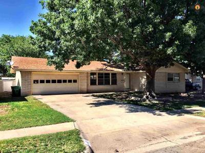 Lovington NM Single Family Home Sold-In House: $126,000