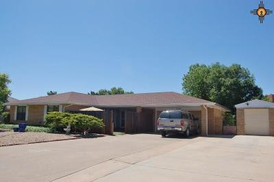Portales Single Family Home For Sale: 2105 Beech Drive