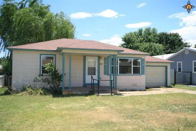 Clovis NM Single Family Home Sold-Co-Op W/Mls Member: $67,500
