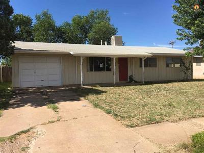 Clovis NM Single Family Home Sold-Co-Op W/Mls Member: $43,000