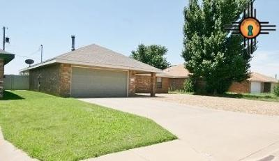 Clovis NM Single Family Home For Sale: $149,700
