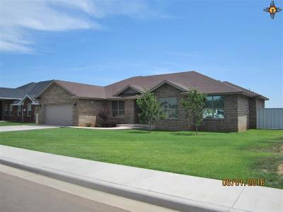 Clovis Single Family Home For Sale: 309 Dominion Way