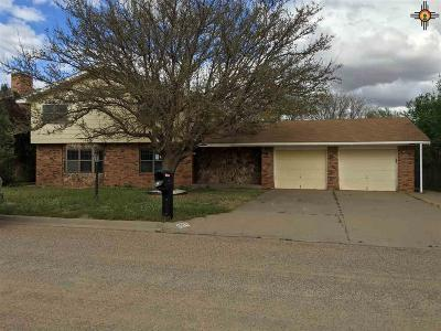 Clovis NM Single Family Home Sold-Co-Op W/Mls Member: $114,600
