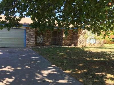 Clovis NM Single Family Home Sold-In House: $72,500