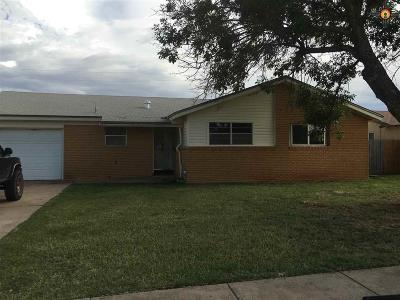 Clovis NM Single Family Home Sold-Co-Op W/Mls Member: $70,100