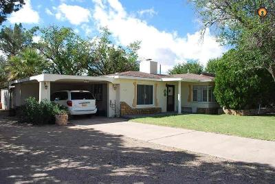 Deming Single Family Home For Sale: 1316 E Florida