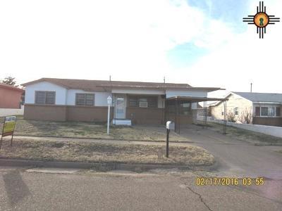 Tucumcari Single Family Home For Sale: 1903 S 6th