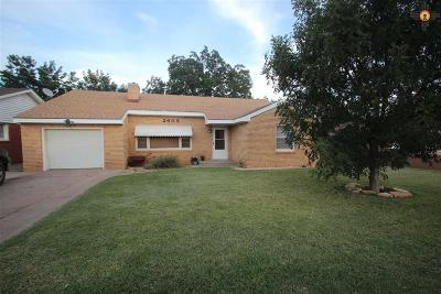 Clovis NM Single Family Home Sold-In House: $115,000