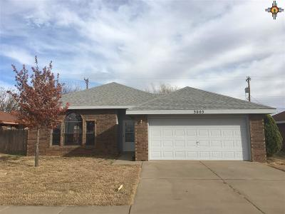Clovis NM Single Family Home Sold-Co-Op W/Mls Member: $100,000