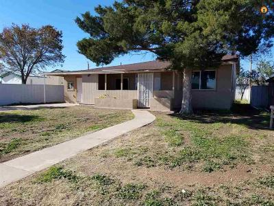 Hobbs NM Single Family Home For Sale: $149,900
