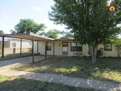 Eunice Single Family Home For Sale: 1407 8th St