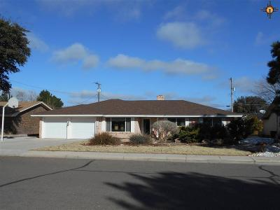 Hobbs NM Single Family Home Sold-Co-Op W/Mls Member: $185,000