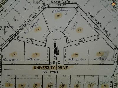 Portales Residential Lots & Land For Sale: 421 E University