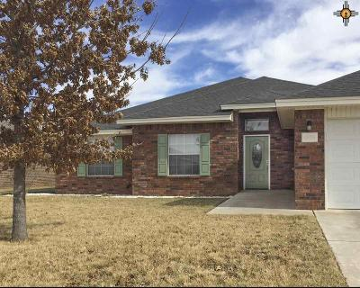 Clovis NM Single Family Home Sold-In House: $195,000