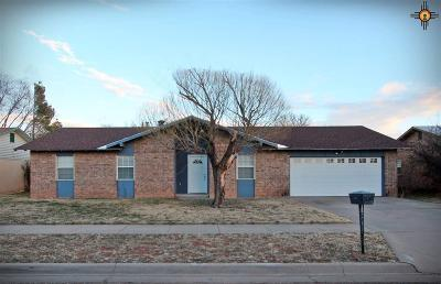 Clovis NM Single Family Home Sold-Co-Op W/Mls Member: $134,900