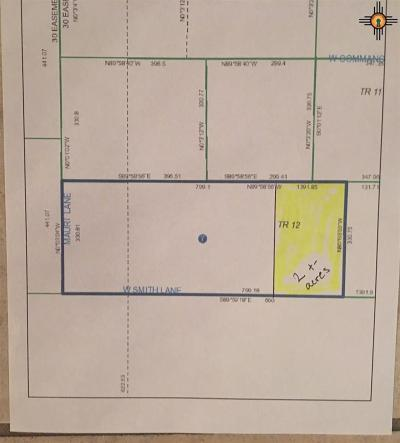 Hobbs Residential Lots & Land For Sale: W Smith Ln