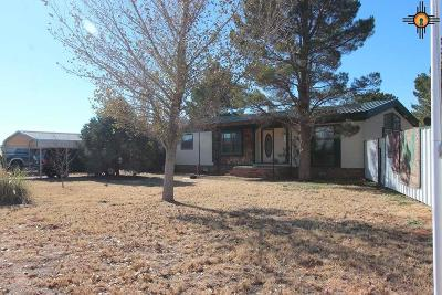 Portales Single Family Home For Sale: 126 Highlands