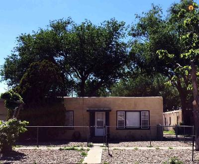 Clovis NM Single Family Home For Sale: $73,000
