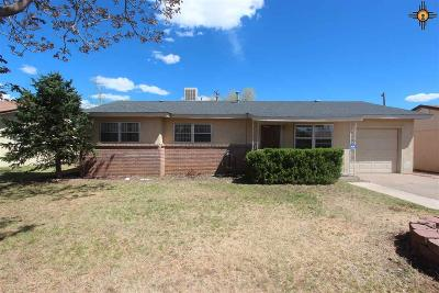 Clovis NM Single Family Home For Sale: $104,900