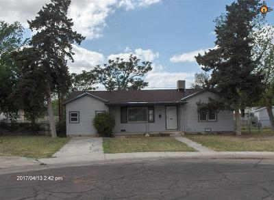 Hobbs NM Single Family Home For Sale: $89,200