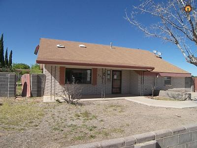 Deming Single Family Home For Sale: 2313 E Olive