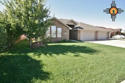 Clovis NM Single Family Home For Sale: $299,000