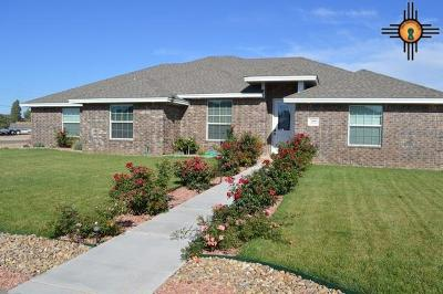 Clovis Single Family Home For Sale: 3400 Lew Wallace Dr