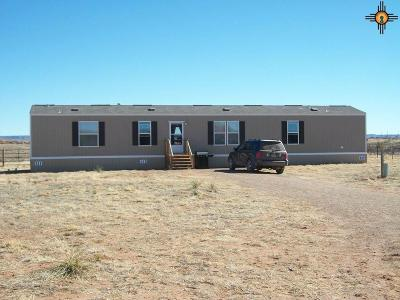 Tucumcari Single Family Home For Sale: 5888 Quay Road Af