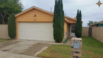 Hobbs NM Single Family Home For Sale: $129,900