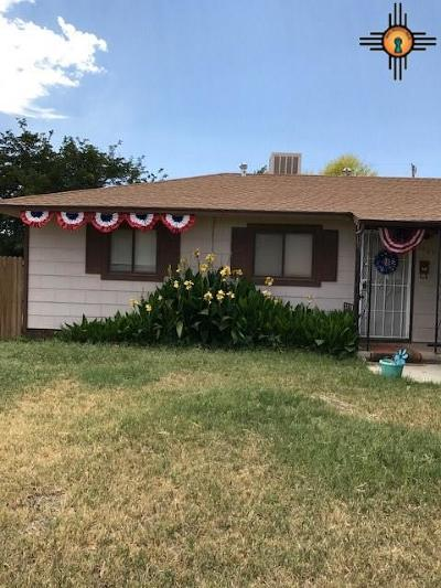 Hobbs NM Single Family Home For Sale: $105,000