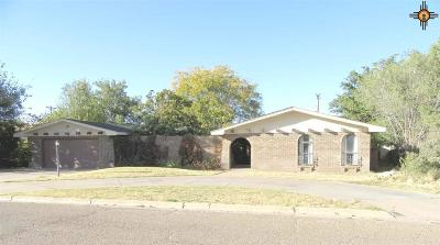 Portales Single Family Home For Sale: 117 Yucca Drive