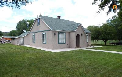 Catron County Single Family Home For Sale: 758 Hwy 180