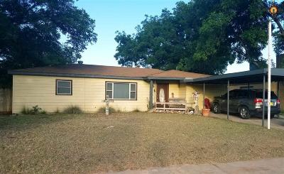 Eunice Single Family Home For Sale: 1608 12th St.