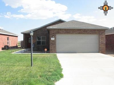 Portales Single Family Home For Sale: 1835 Dillon Wood