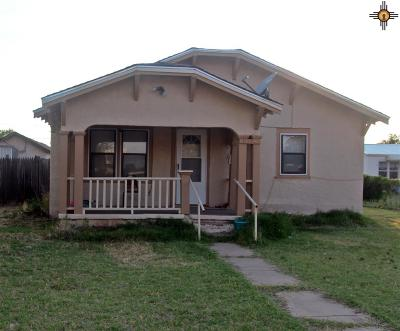 Clovis NM Single Family Home For Sale: $79,900