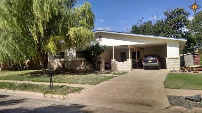 Portales Single Family Home For Sale: 120 Oklahoma Dr