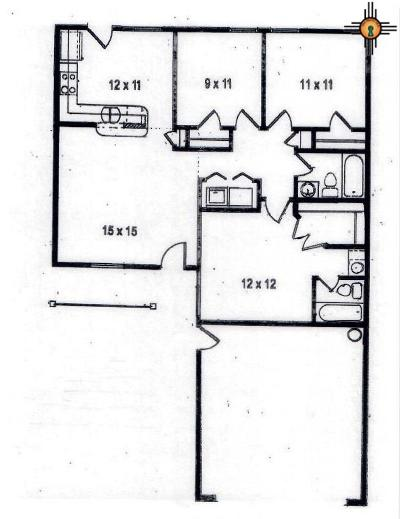 Eunice Single Family Home For Sale: 1721 Berkeley Lane