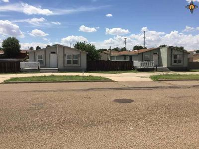 Tucumcari Single Family Home For Sale: 2113 S 8th St