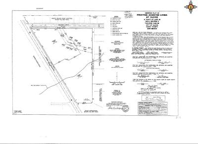 Clovis Residential Lots & Land For Sale: 2601 & 2620 Marvin Hass Blvd.