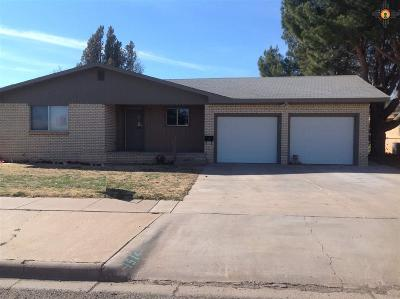Portales Single Family Home For Sale: 1514 S Ave A
